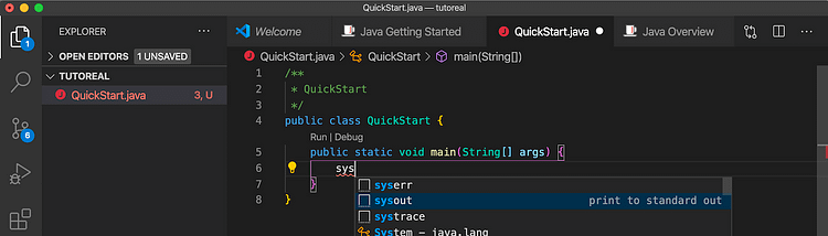 Java Getting Started 004