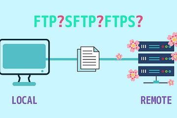 Which is better, FTP, SFTP or FTPS?(どれがいいですか?)